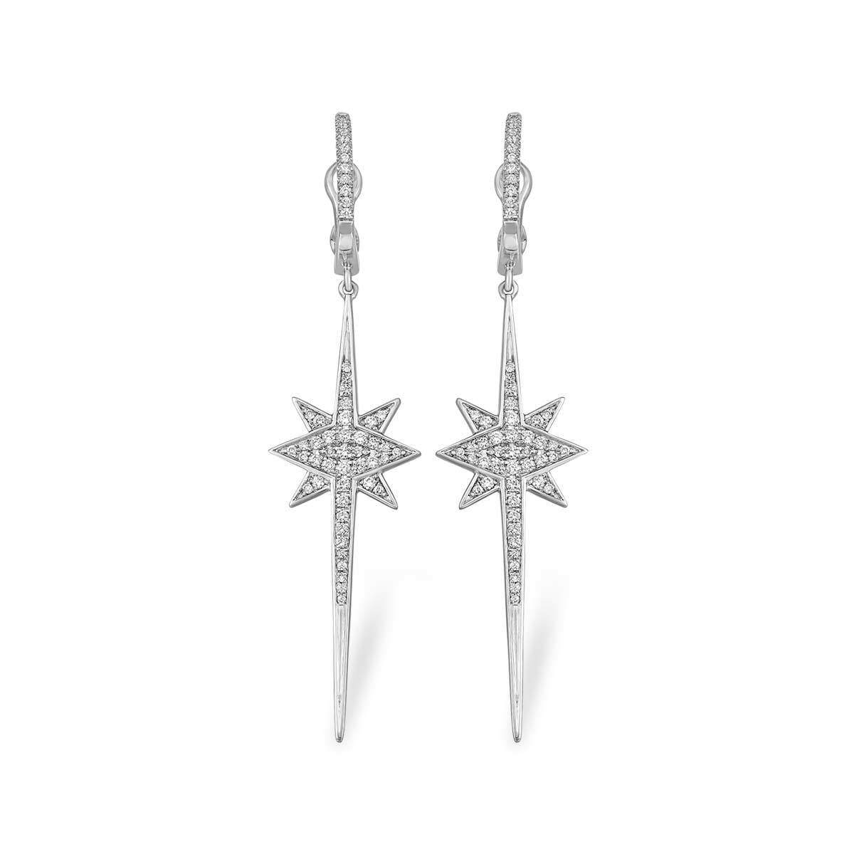 Shooting Star Earrings - Serena Williams Jewelry