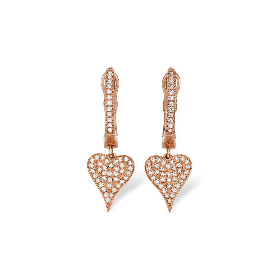 Heart Drop Earrings - Serena Williams Jewelry