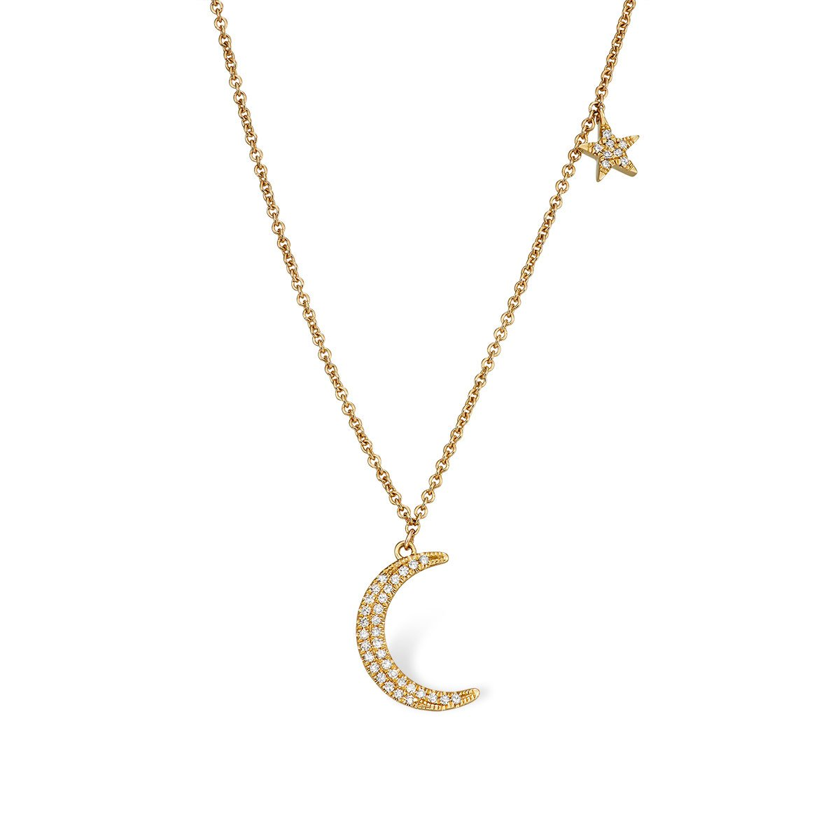 Crescent Moon Necklace - Serena Williams Jewelry