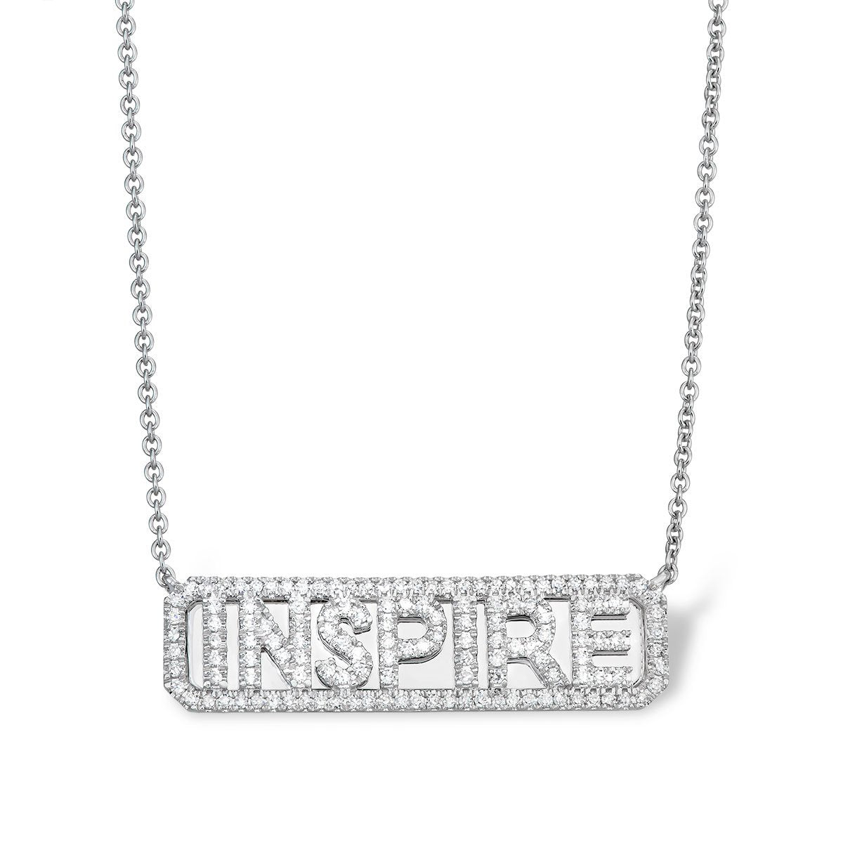 'Inspire' ID Necklace - Serena Williams Jewelry
