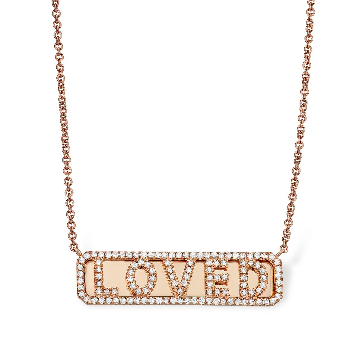 'Loved' ID Necklace - Serena Williams Jewelry