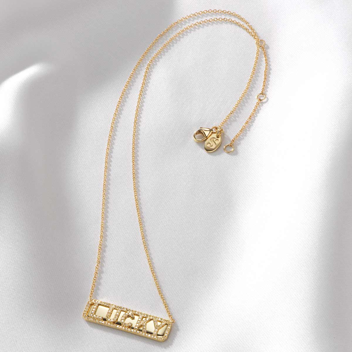 'Lucky' ID Necklace