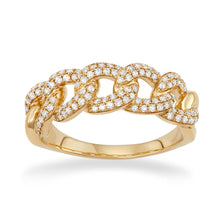 Cuban Link Ring - Serena Williams Jewelry