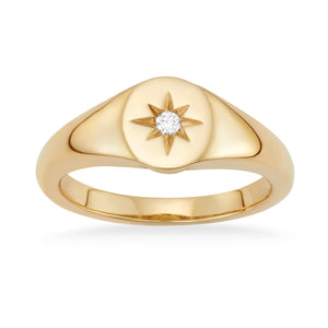 Star Signet Pinky Ring - Serena Williams Jewelry