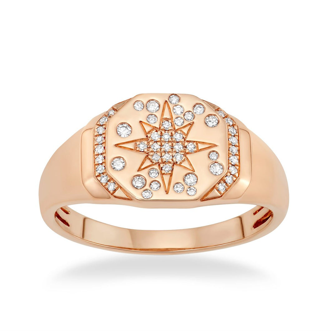 Starry Night Signet Ring - Serena Williams Jewelry