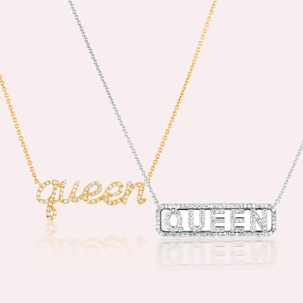 Queen Diamond Necklace Set