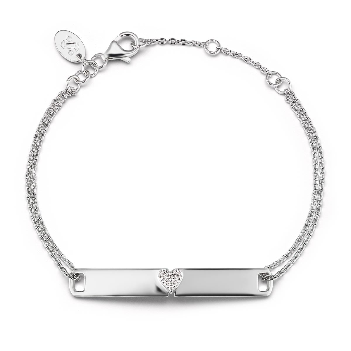Unstoppable with All Your Heart ID Bracelet