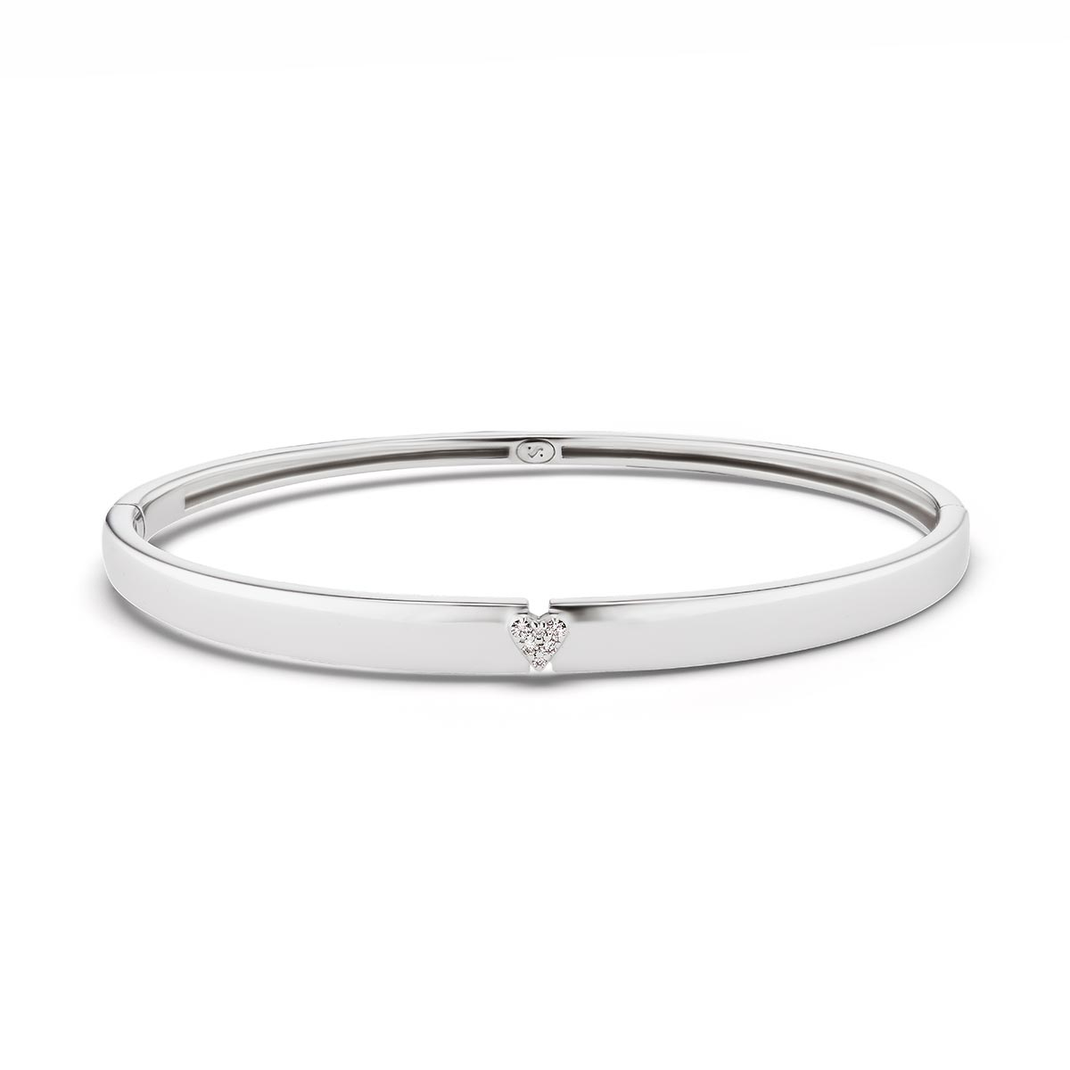Unstoppable with All Your Heart Bangle Bracelet