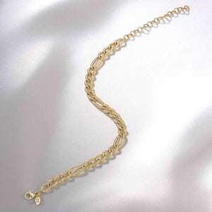 Diamond Figaro Link Bracelet - Serena Williams Jewelry