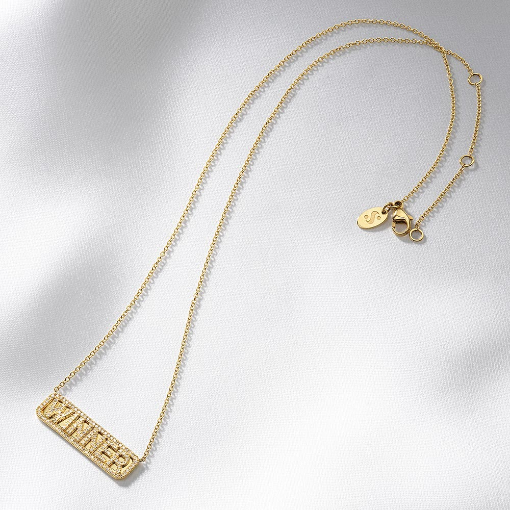 'Winner' ID Necklace