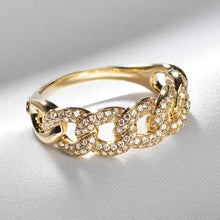 Load image into Gallery viewer, Cuban Link Ring