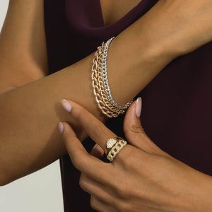 Miami Cuban Link Bracelet - Serena Williams Jewelry