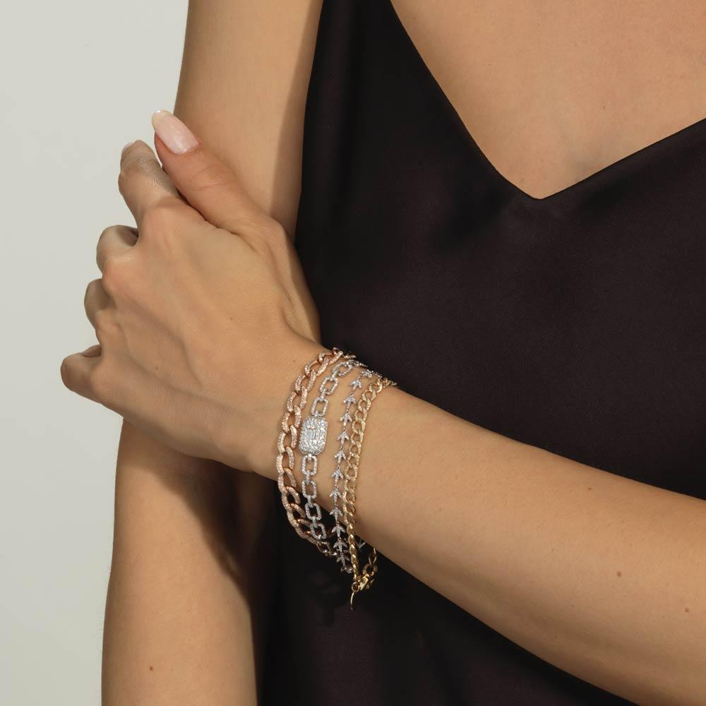 Diamond Ice Cube Bracelet - Serena Williams Jewelry