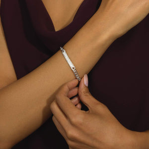 Medium Pavé ID Bracelet