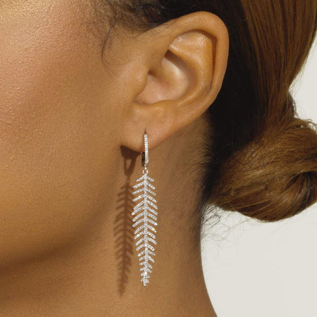 Feather Earrings - Serena Williams Jewelry
