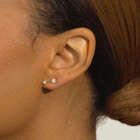 Heart & Arrow Earrings - Serena Williams Jewelry