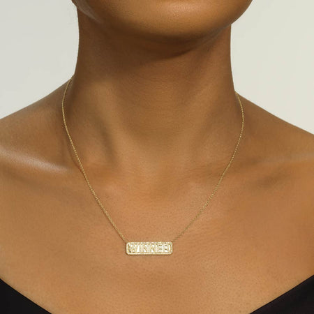 'Winner' ID Necklace - Serena Williams Jewelry