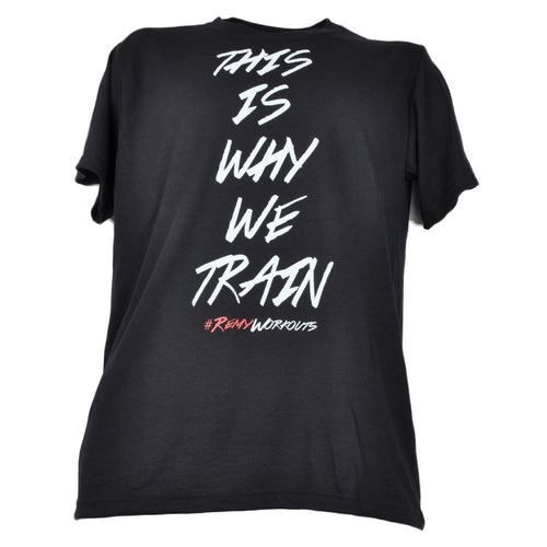 This is Why We Train T-Shirt Black Men Tee