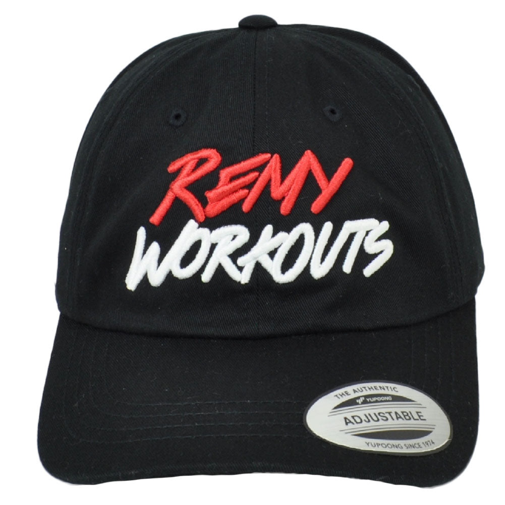 RemyWorkouts Dad Hat Black Cap Adjustable This is Why We Train
