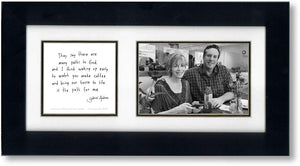 Morning Coffee 4x6 Double Picture Frame