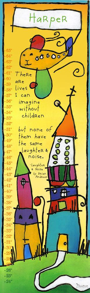 Laughter & Noise Growth Chart