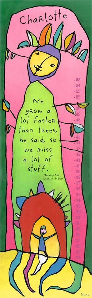 Growing Fast Growth Chart