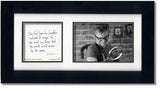 His Laughter 4x6 Double Picture Frame