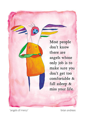 Angels of Mercy Greeting Card