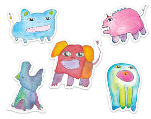 Monster Sticker Pack