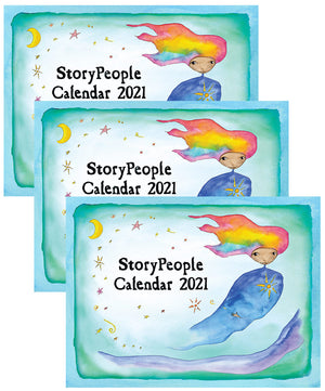 StoryPeople Calendar 2021 - Set of 3
