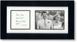 Boundless 4x6 Double Picture Frame