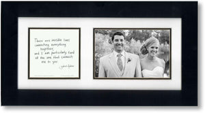 Heart Lines 4x6 Photo Frame