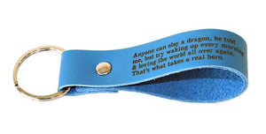 Real Hero (masc) Key Fob