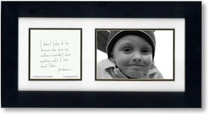 Hindsight (mother) 4x6 Double Picture Frame