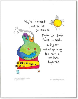 Natural Bond StoryPeople Prints