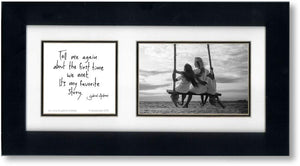 Our Story 4x6 Double Picture Frame