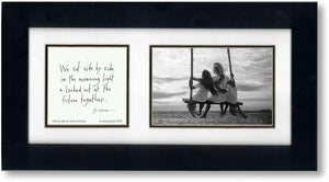 Side by Side 4x6 Double Picture Frame