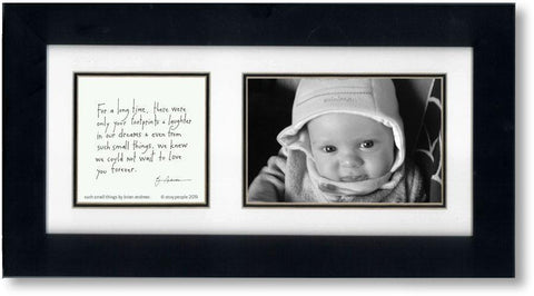 Such Small Things 4x6 Double Picture Frame