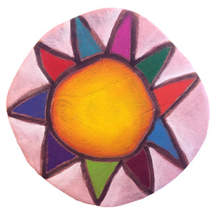 Custom Sun Circle - Light Pink