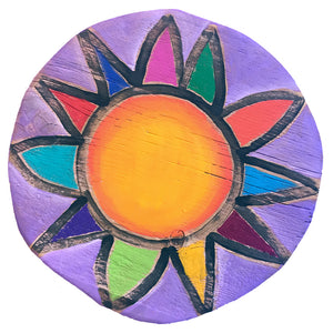 Custom Sun Circle - Lavender