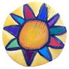 Custom Sun Circle - Yellow