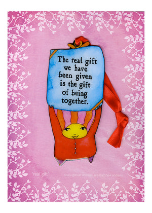 Real Gift Adornament Valentine