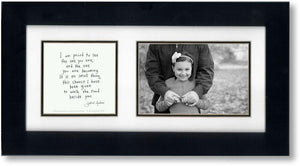 Walking Together 4x6 Double Picture Frame