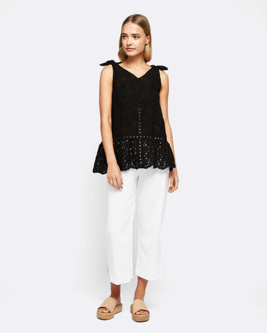 WE FOUND LOVE LACE TOP