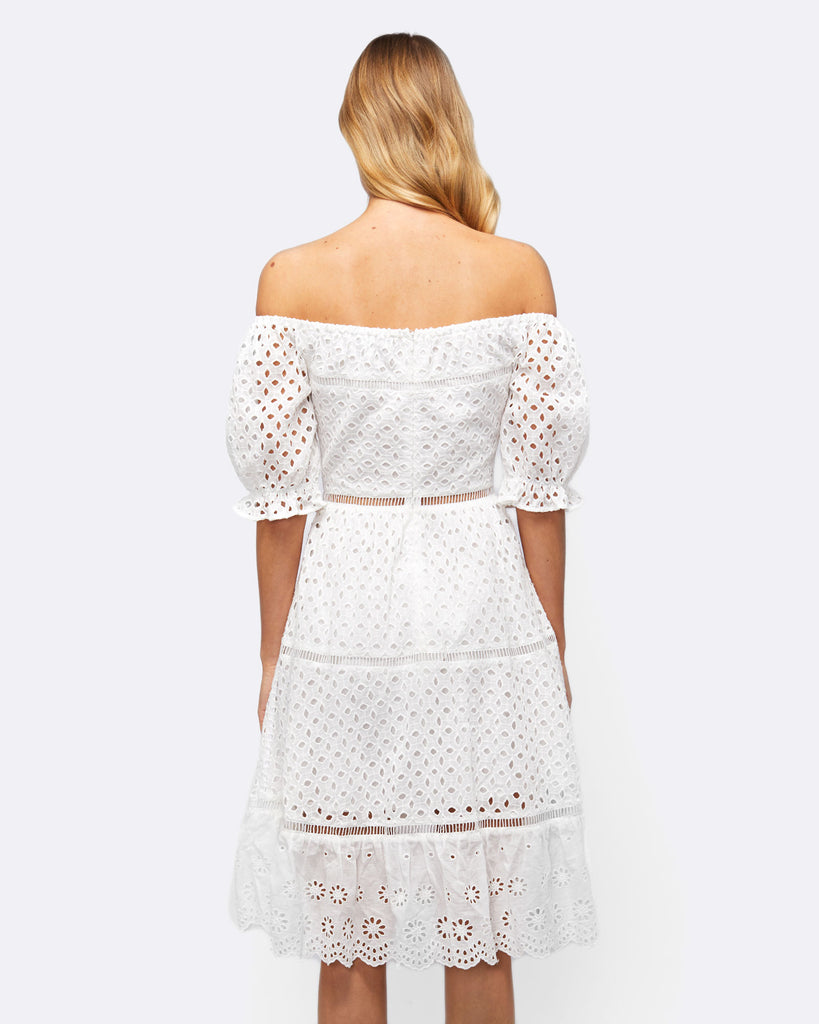 MEMORY LANE LACE DRESS