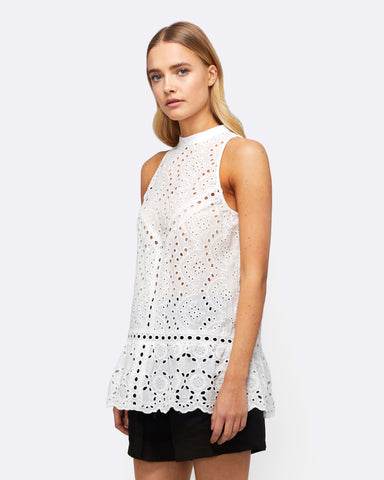 OCEANS AWAY LACE TOP