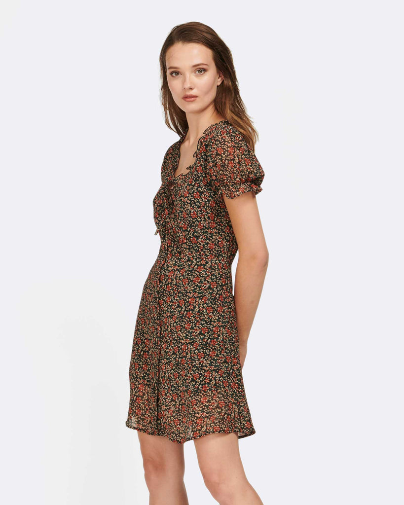 DREAM CATCHER FLORAL DRESS