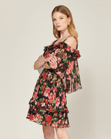 BOLD BLOOMS DRESS
