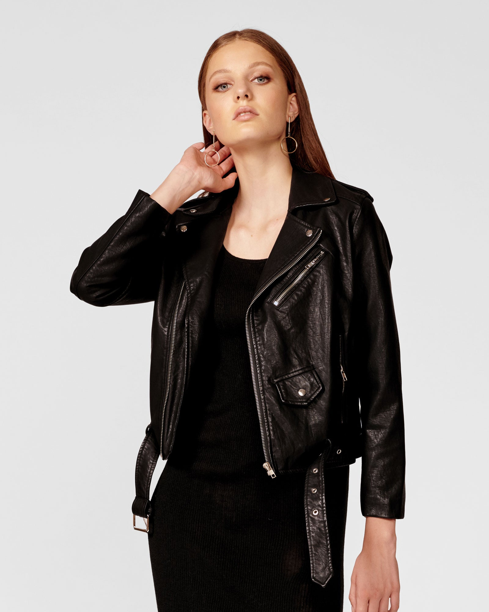 WITHOUT HIM BIKER JACKET