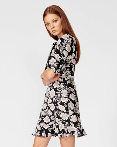 MIDNIGHT BLOOM DRESS